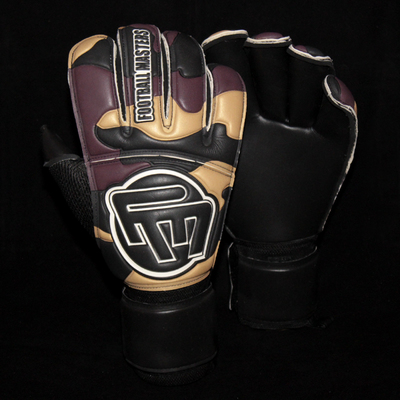 Rękawice Football Masters Army Black Contact Grip RF