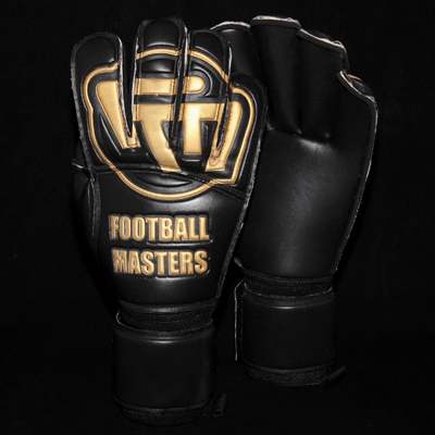 Rękawice Football Masters Black Gold Contact Grip RF
