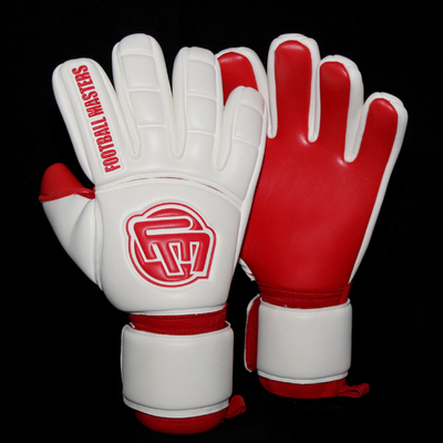Rękawice Football Masters Full Red Contact Grip NC Junior