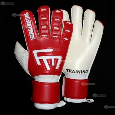 Rękawice Football Masters Training Red Super Soft Mixcut FR Junior